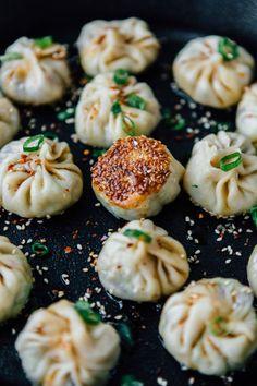 Homemade Vegan Dumplings - by Madeline Lu - @lumadeline