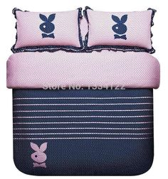 Find More Bedding Sets Information about High quality Fashionable Lady obedient rabbit 4 pieces bedding set,High Quality Bedding Sets from Amymoremore mall on Aliexpress.com