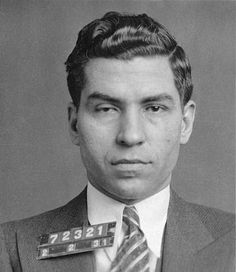 """Charles """"Lucky"""" Luciano - gangster"""