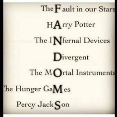 Fandoms that we love!