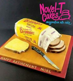 Use your loaf - Cake by Novel-T Cakes