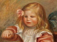 La hija de Renoir toma una sopa en el Thyssen por 30.000 euros