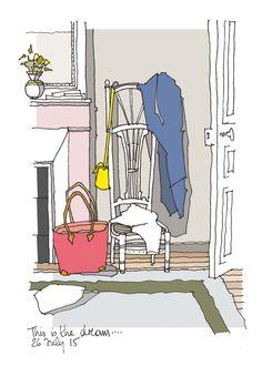 Felicie Krikler's Sketch Diary