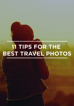 With high-res iPhones and editing apps, everyone and their grandma fancies themselves a photographer these days. But an Instagram account does not a pro make. So how do you take your vacation pics to the next level? Jetsetter photog April Ellis has 11 tips for mastering the shooting game