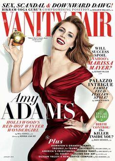 Vanity Fair January 2014 featuring Amy Adams
