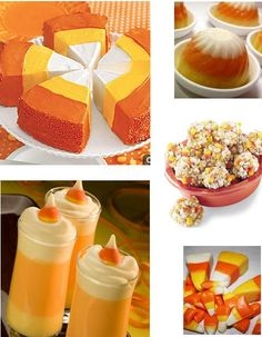 Halloween Sweet Treats - Candy Corn Recipes