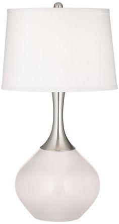 """Smart White Spencer Table Lamp $129 22"""" high"""