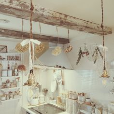 Architecture – Enjoy the Great Outdoors! Cozinha Shabby Chic, English Cottage Interiors, Rustic Loft, Hobby House, Aesthetic Design, Aesthetic Girl, Vintage Room, Antique Decor, Shop Plans
