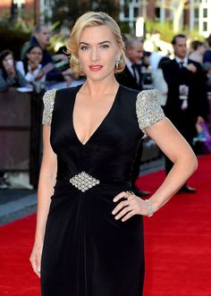 Kate Winslet, you are the perfect role model.  Could this woman be any more beautiful?!?!