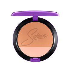 Blush Duo in Techno Cumbia: Two shades in one compact. Designed to provide fantastic colour with ease and consistency. Applies evenly, adheres lightly to skin for a natural-looking application of colour that stays put all day. Specially packaged in purple featuring Selena's signature in lavender.