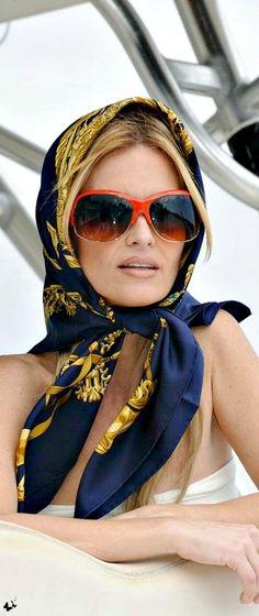 I'm Fabulous~ Luxury Traveler -  Sunglasses and scarf... #LadyLuxuryDesigns