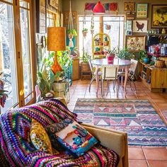 Ideas For Boho Style Interior Decor Design Boho Living Room, Bohemian Living, Bohemian Decor, Living Room Decor, Bedroom Decor, Moroccan Decor Living Room, Boho Style Decor, Living Spaces, Bohemian House