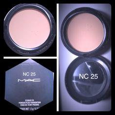 M.A.C. Studio Fix Powder M.A.C. Studio Fix Powder Plus Foundation NC 25 MAC Cosmetics Makeup Face Powder