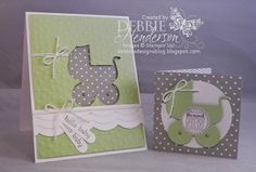 Stampin' Up! Baby's First by Debbie Henderson, Debbie's Designs