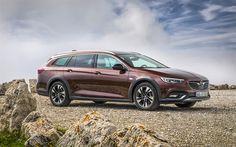 Scarica sfondi Opel Insignia station Wagon, 4k, 2018 auto, auto tedesche, Opel