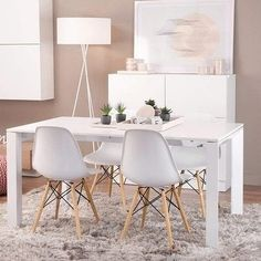Shop for VECELO Home Kitchen Dining Chairs Natural Wood Legs Morden Style (Set of 4). Get free shipping at Overstock.com - Your Online Furniture Outlet Store! Get 5% in rewards with Club O! - 13047280
