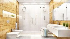 You Won't Believe the Hottest Bathroom Trends of the Year Bathroom Niche, Bathroom Red, Large Bathrooms, Bathroom Colors, Modern Bathroom, Small Bathroom, Master Bathroom, Bathroom Ideas, Bathroom Organization