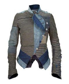Denham the Jeanmaker | Boro Spy Jacket | repurposed Japanese boro | Amsterdam, Netherlands
