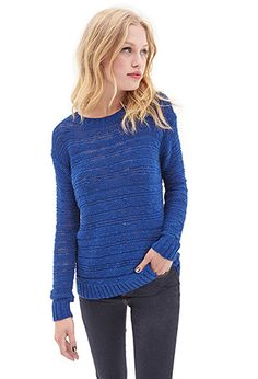 Open-Knit Sweater | FOREVER 21 - 2000087498