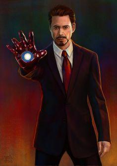 Tony Stark by slugette.deviantart.com on @DeviantArt