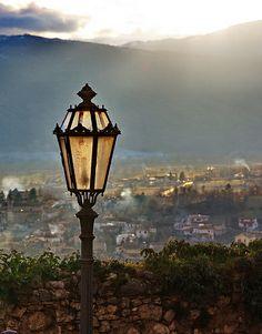 Street Lamp, Scurcola Marsicana, Italy