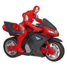Marvel Avengers Movie Battle Chargers Iron Assault Bike by Hasbro. $9.59. Zooming fast action!. For ages 4 and up.. Pull back and release!. A master engineer, Tony Stark developed the IRON ASSAULT BIKE to swiftly pursue and detain the worlds most terrifying criminals. Equipped with a highpowered ion cannon, a carboncomposite exoframe and an arcjet engine, this is certainly not your average motorcycle.Get the armored awesomeness of IRON MAN with the speed and firepower of ...