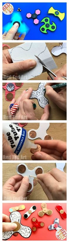 These DIY Fidget Spinners without bearings are SO COOL. You can now download the free Printable DIY Fidget Spinner instructions. A free step by step guide to making fidget spinners. Perfect for Youth Groups, Summer Camps, Schools or Library Schemes. Inclu