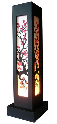 lamp....I would like it better without the flowers