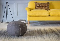 Available in 130 fabric options, the Peter Sofa is a timeless classic. Curved, low slung back and arms with plump cushions. Order six free fabric samples today Seater Sofa, Furniture, Lounge Decor, Room, Interior, Sofa, Pouffe, Living Room Style, Lounge
