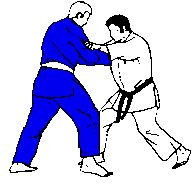 Deashi-harai: Forward foot sweep