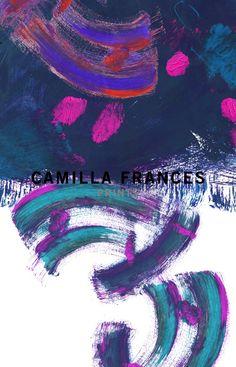 Collection | Camilla Frances Prints Textile Patterns, Textile Prints, Floral Prints, Textiles, Art Prints, Painted Patterns, Theme Color, Cool Backgrounds, Drawing Techniques