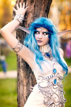 Tyrande Whisperwind - World of Warcraft Cosplay by Busya-Sama