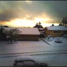 Sunset in Salem Oregon