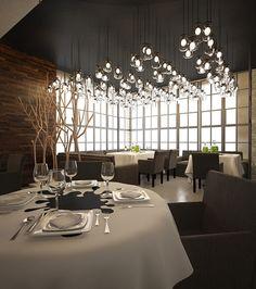 Фото — INK restaurant — Interior design