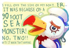Animal Crossings Gulliver!