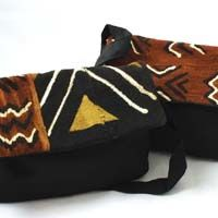 Africa Imports - African Handbags and Tote Bags -Mud cloth, Ethnic Fabric and Leather