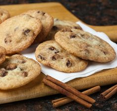 America's farmer owned brands. Cinnamon and sugar cookies with raisins are a tasty treat. Cookie Desserts, Cookie Bars, Cookie Recipes, Dessert Recipes, Raisin Cookies, Sugar Cookies, Snickerdoodle Recipe, Snicker Doodle Cookies, Fresh Bread
