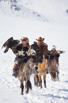 Kazakh Eagle Hunting Festival by Stephane B., via 500px. The annual Eagle Hunting Festival celebrates Kazakh culture, Bayan Olgi, Mongolia, Oct 6, 2003. Kazakhs have hunted with eagles for centuries. The Eagle Hunting Festival has revived Kazakh culture which was surpressed under Soviet rule.