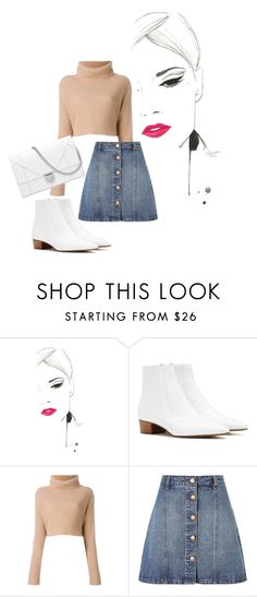 """""""Falling, crash into my arms"""" by agnesegundega on Polyvore featuring The Row and Anita & Green"""