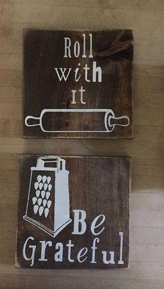 Wooden kitchen Sign/ kitchen decor/ be by WondersbyWood on Etsy