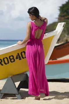 Grenada Cover-Up Maxi Dress