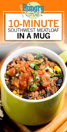 Mug Recipes, Beef Recipes, Cooking Recipes, Healthy Recipes, Healthy Cooking, Meals For One, Main Meals, Recipe Makeovers, Hungry Girl Recipes