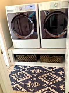Domesticability: Laundry Room Organization