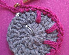 Free Crochet Pattern: Spikes Yarn Basket