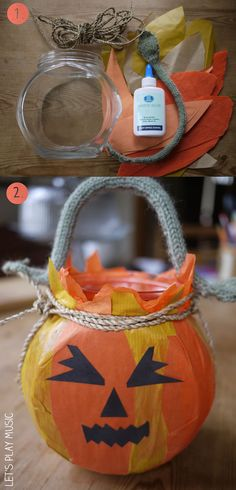 When It Is Halloween - Lantern Craft - Let's Play Music & cute song