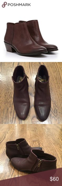 Sam Edelman Petty Boots Chocolate Brown So cute and super comfortable. Only worn a few times. TTS. Sam Edelman Shoes Ankle Boots & Booties