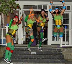 disfraz grupo tortugas ninja  homemade diy