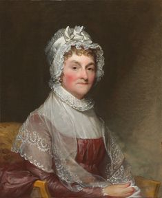 Abigail Smith Adams 1744-1818 at home, often without husband John