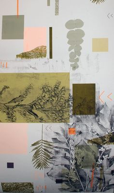 Natalie Ratcliffe Abstracted Woodland 2
