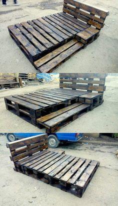 30+ Pallet Wooden Unique Furniture Creation Designs